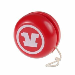 red toy yo-yo
