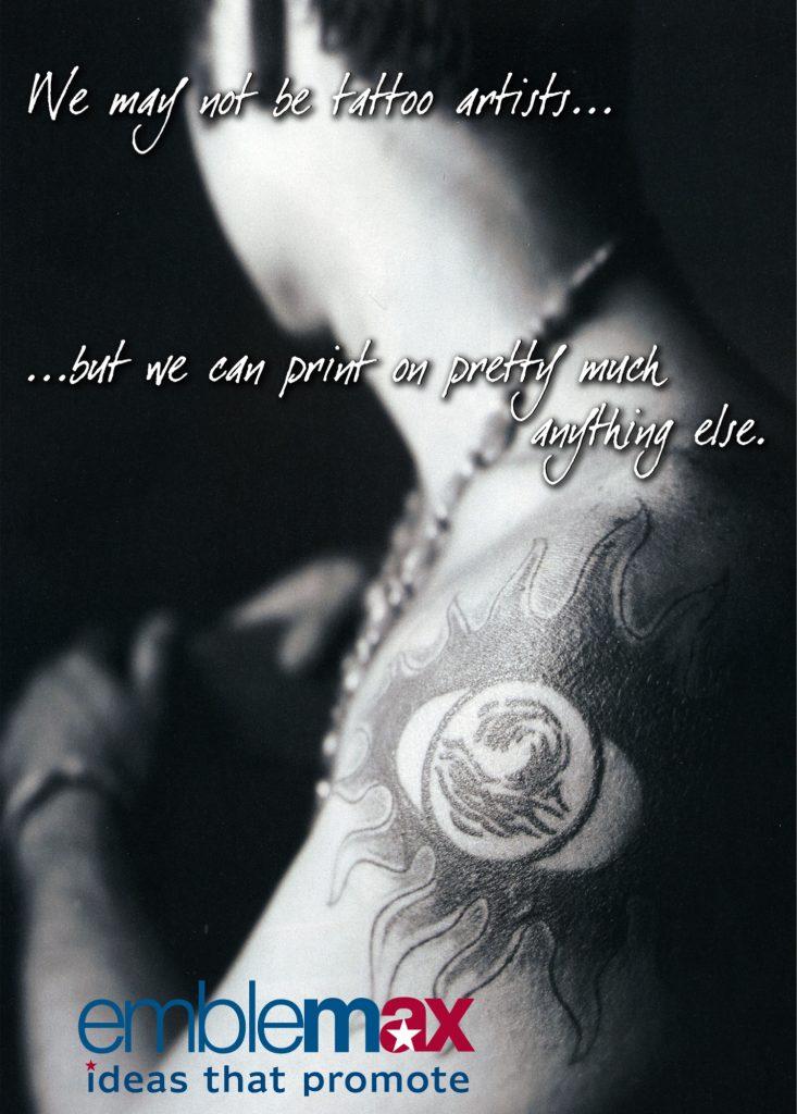 emblemax print tattoo artist